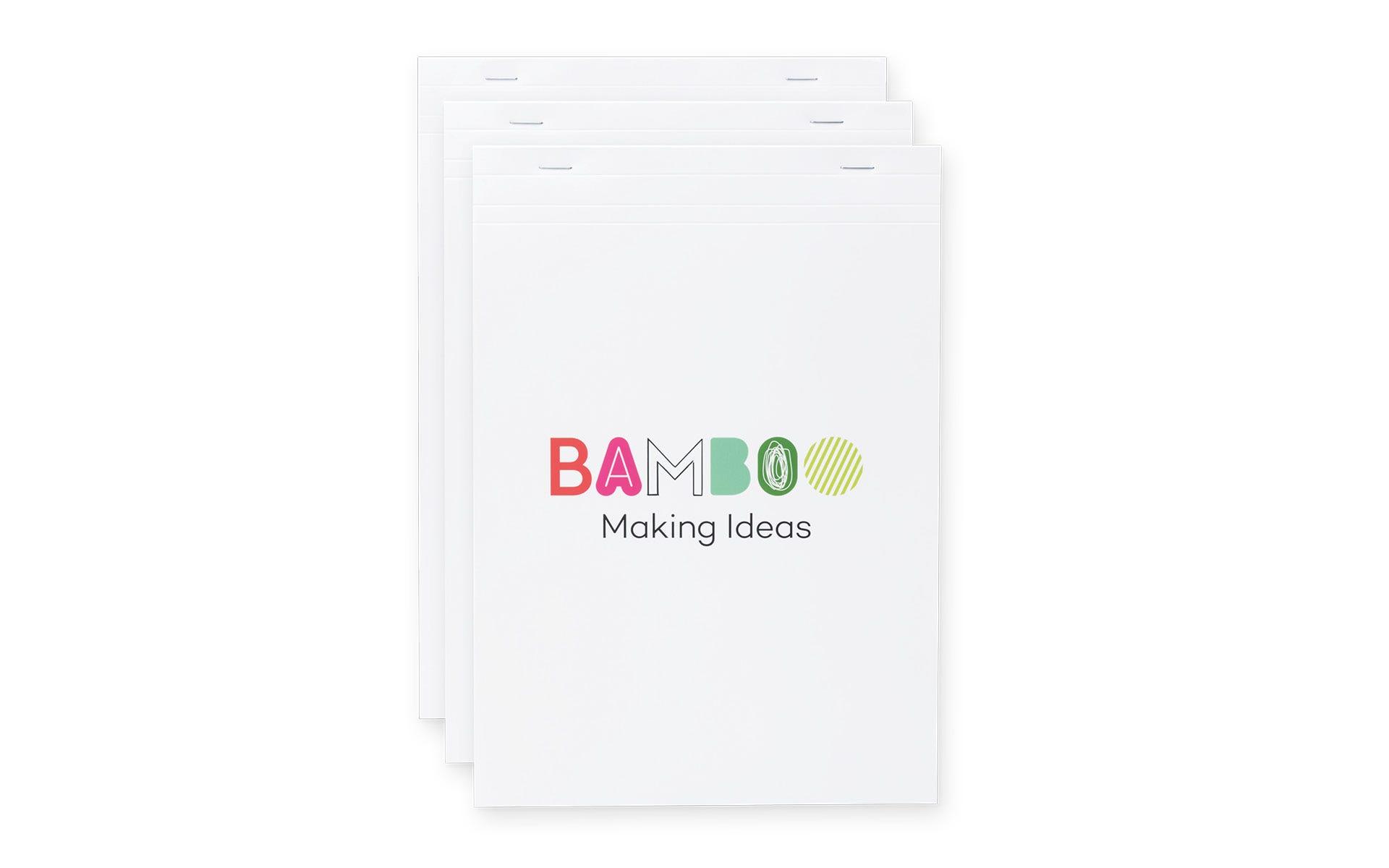 Bamboo Folio / Slate notepads, A4