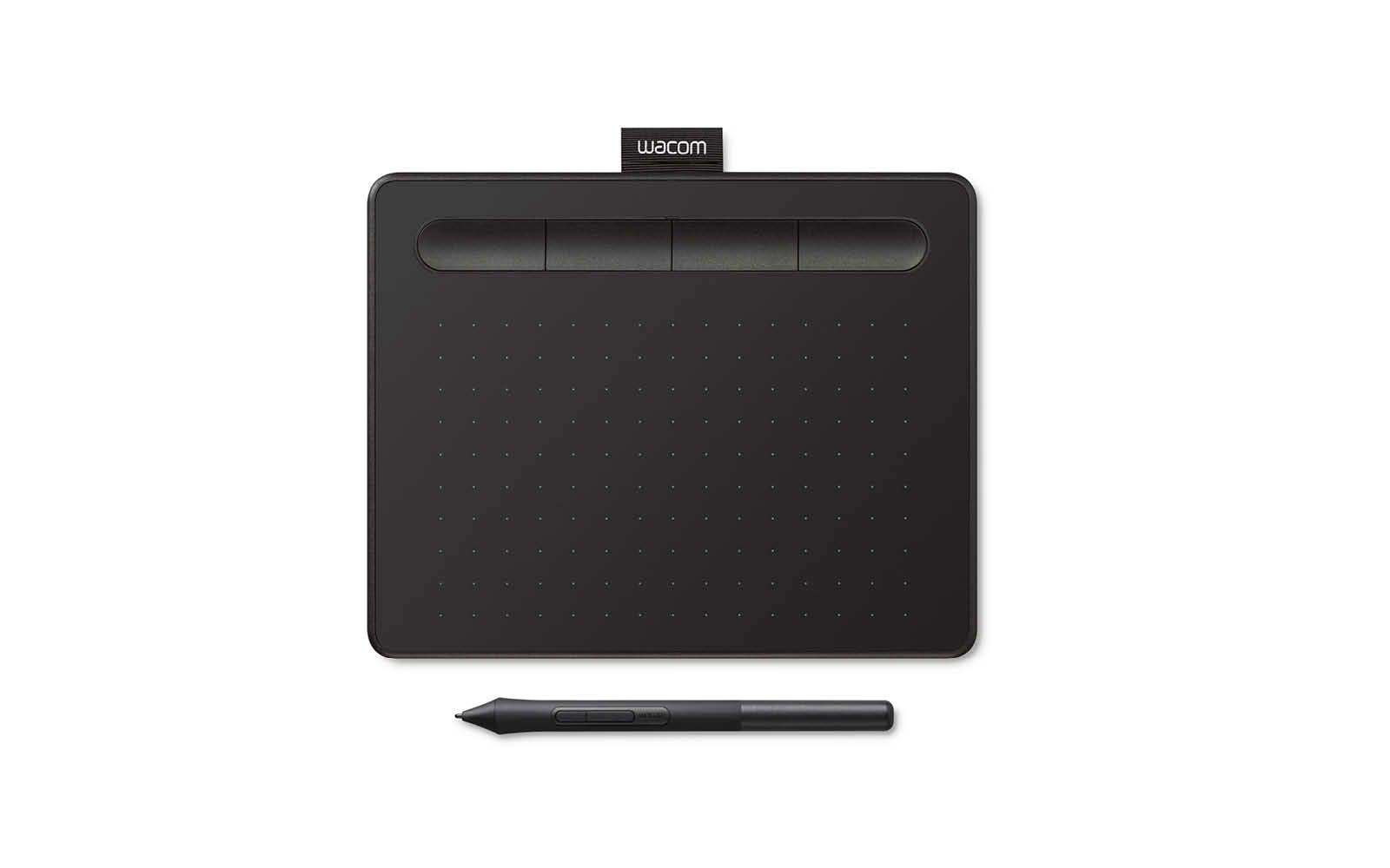 Wacom Intuos small (S) Black (EN, DE, SV, PL, RU)