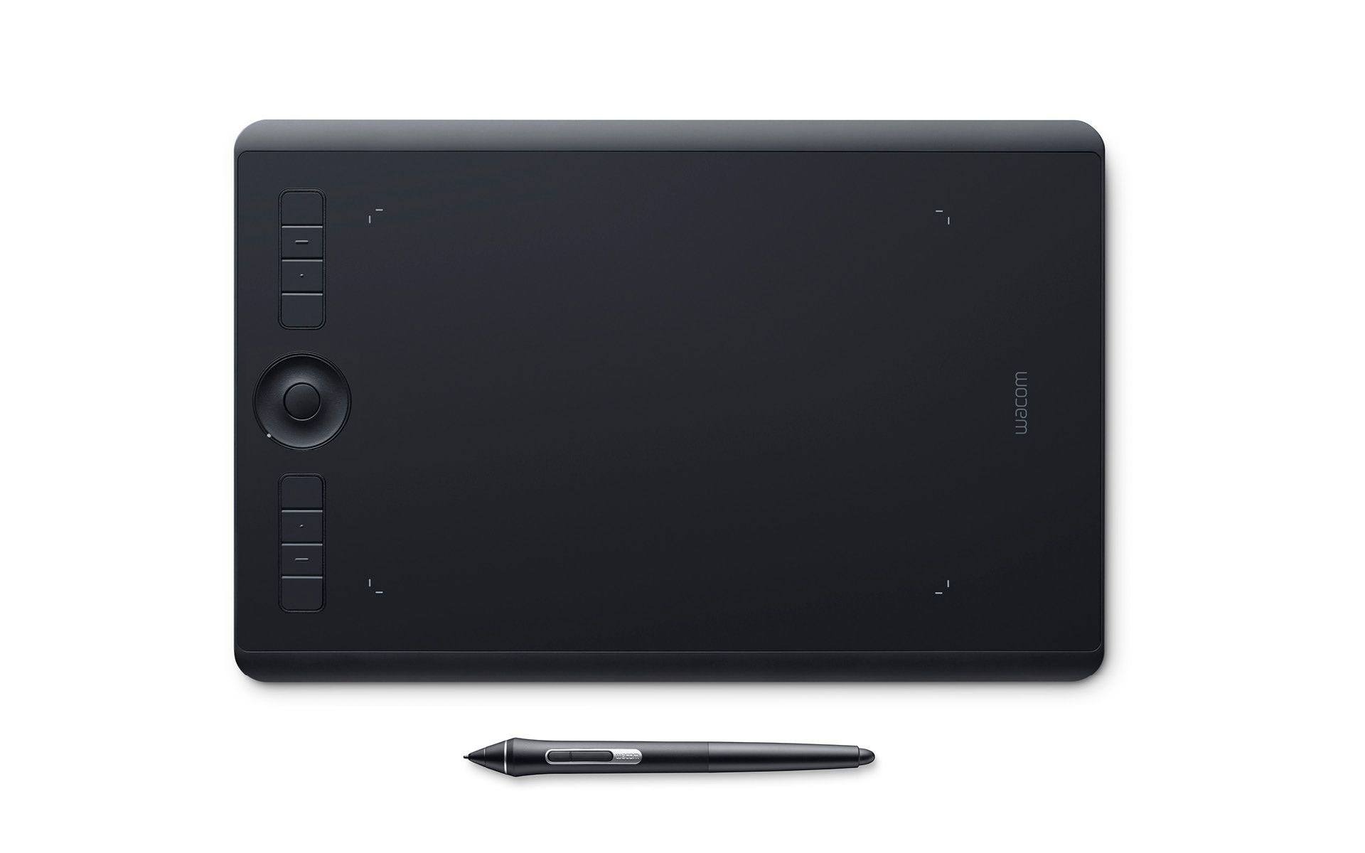Wacom Intuos Pro medium (M), (EN, FR, ES, IT, NL)