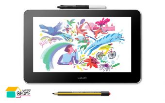 Wacom One und der Stift Noris Digital Jumbo