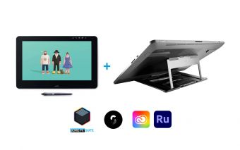 Wacom Cintiq Pro 16 with Wacom Stand Bundle (EU)