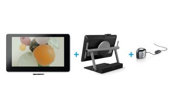 Wacom Cintiq Pro 32 (touch) with Ergo Stand and Color Manager Bundle