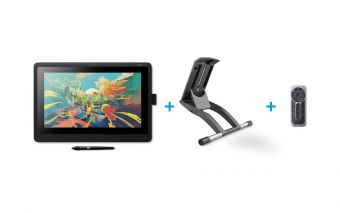 Wacom Cintiq 16 with Adjustable Stand and ExpressKey Remote Bundle