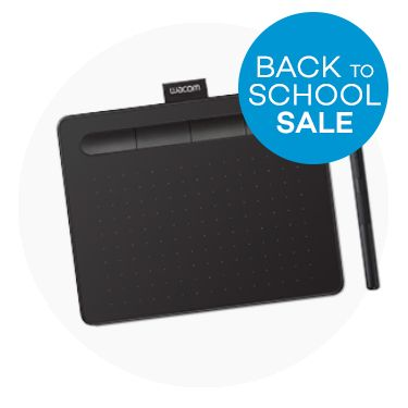 Wacom Intuos Small without Bluetooth - Black