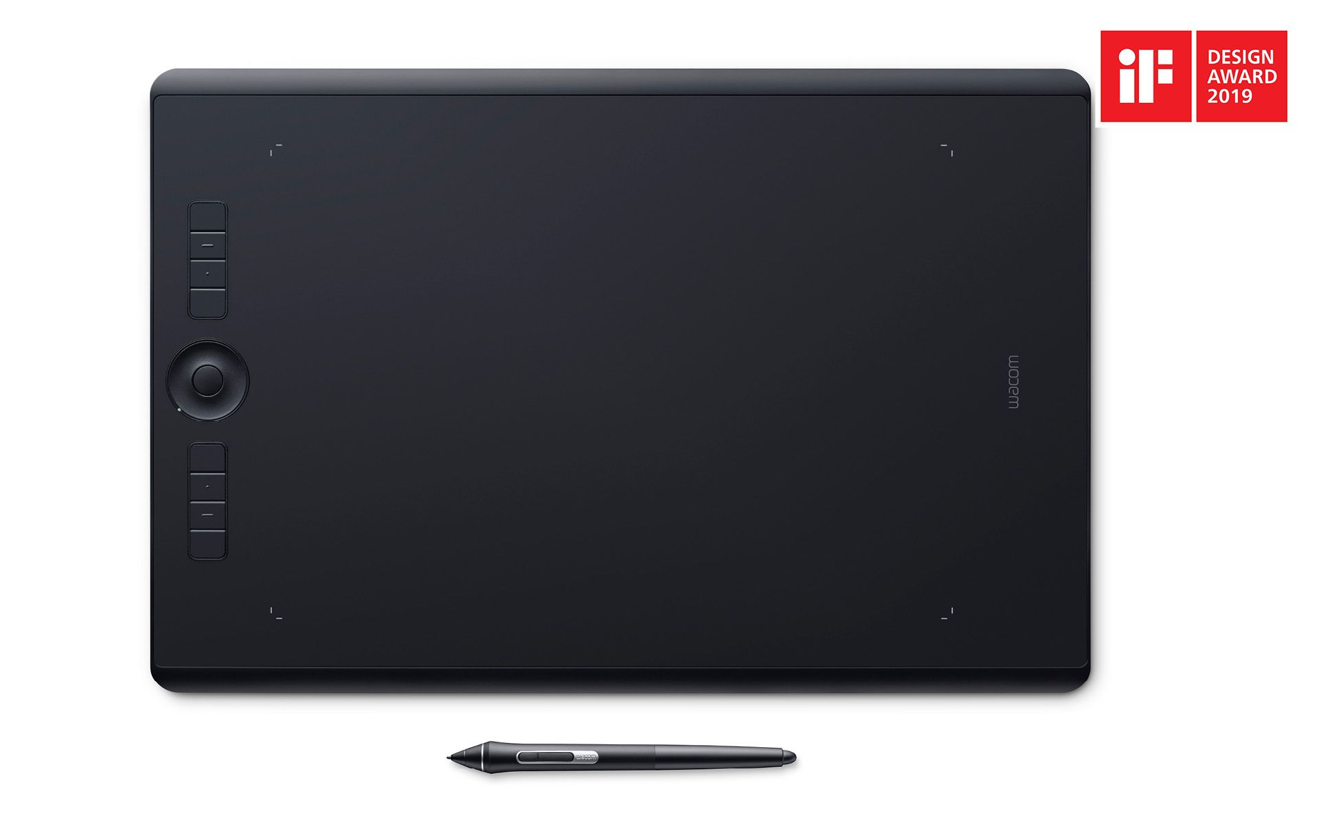 Product flat from above with pen separate